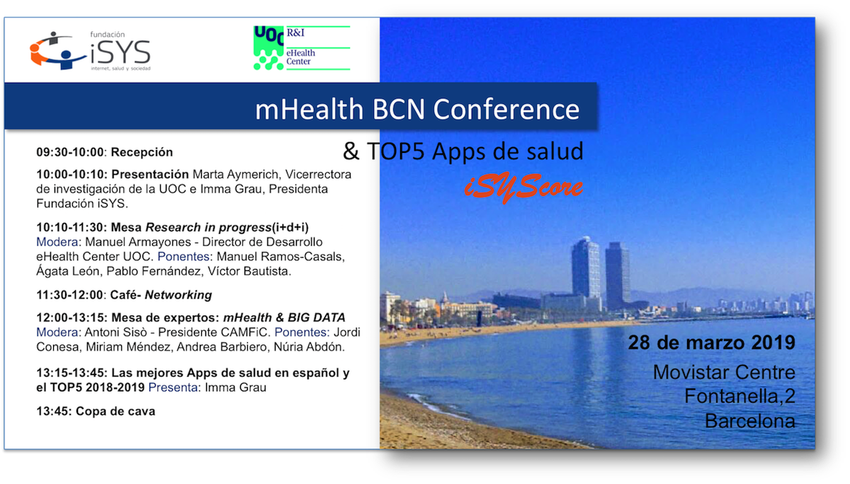 mHealthBCN19 NouTarg